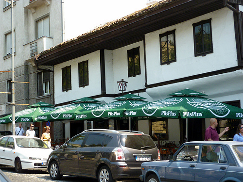 dining in Belgrade, Serbia