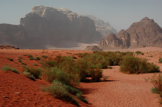 Wadi Rum is one of the amazing natural assets that are just begging to be discovered in Jordan...!