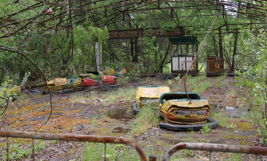 Pripyat, with high levels of residual radiation is definitely one of the more controversial places to visit in the world...