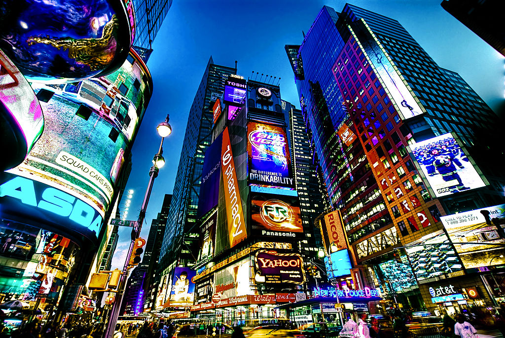 New York City is one of the best holiday destinations in the USA ... photo by CC user Francisco Diez on Flickr