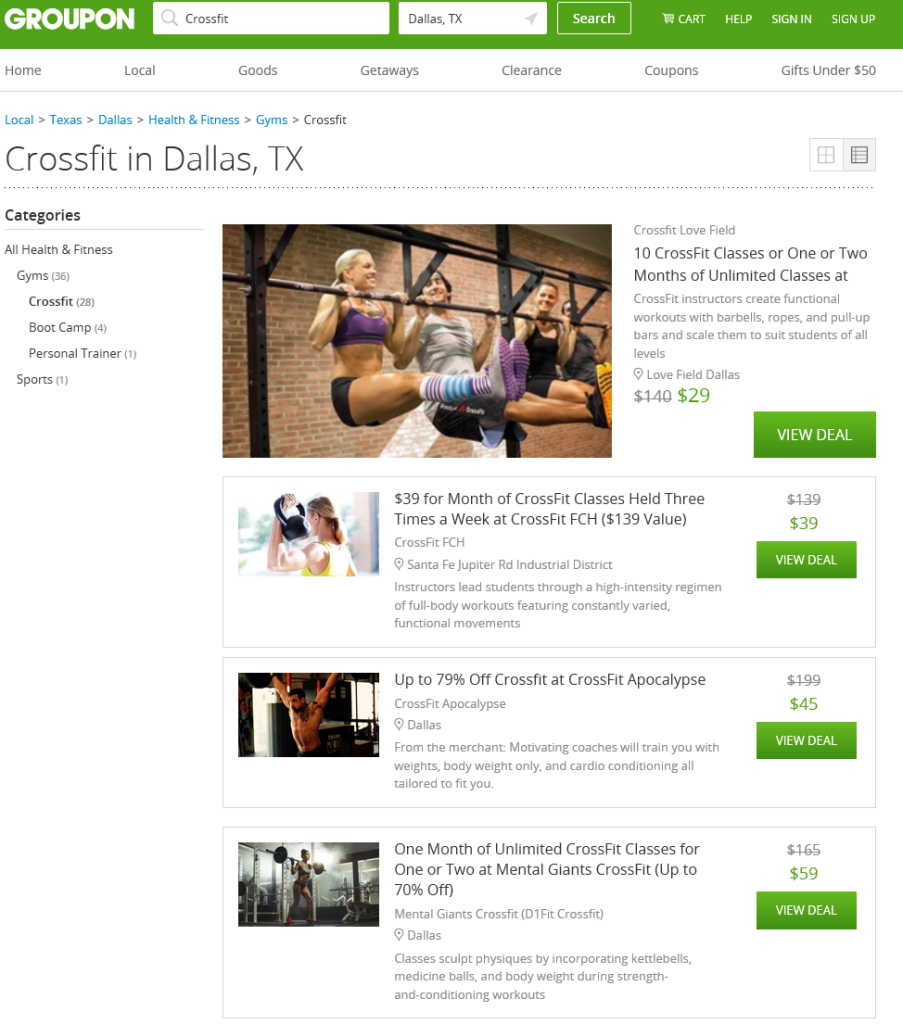 crossfit in dallas